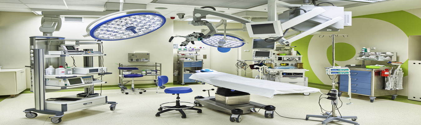 An image of refurbished medical equipment